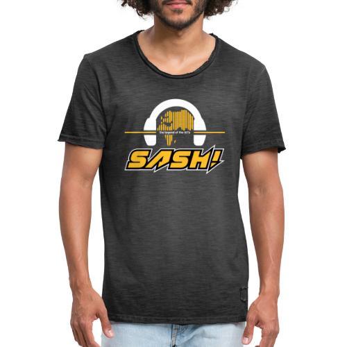 SASH! Logo 2020 Headfone - Men's Vintage T-Shirt