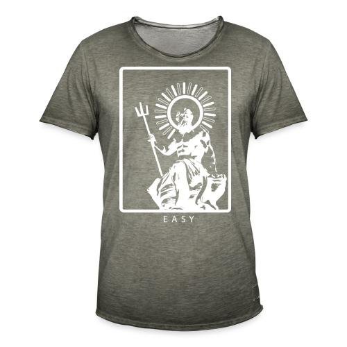 POSEIDONE - Maglietta vintage da uomo