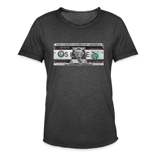 SLOPEZ x ACIDcash logo - Vintage-T-skjorte for menn