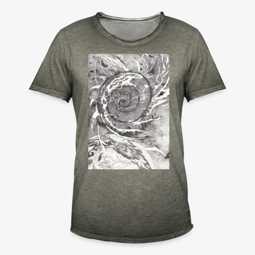Decipher Entity by Rivinoya - Miesten vintage t-paita