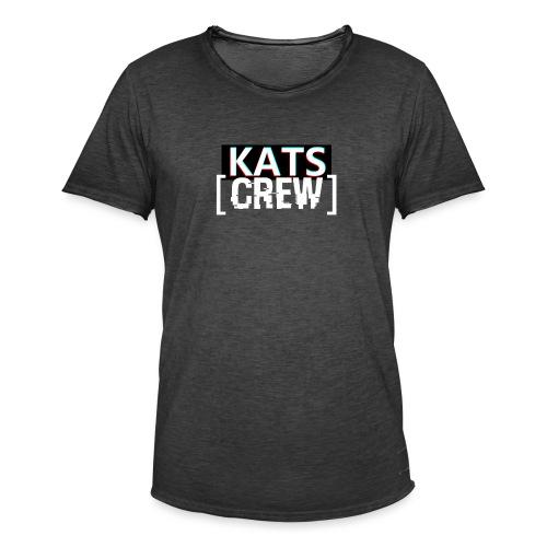 KATS CREW Logo - Koszulka męska vintage