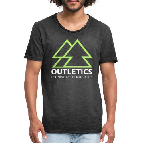 outletics denim - Männer Vintage T-Shirt