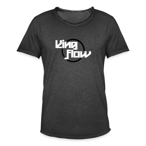 King Flow - Camiseta vintage hombre