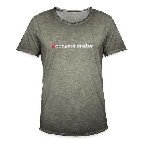 #Conversionator - Männer Vintage T-Shirt