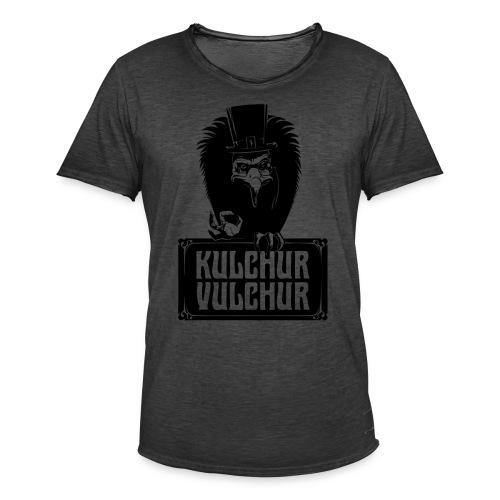 Kulchur Vulchur - Men's Vintage T-Shirt