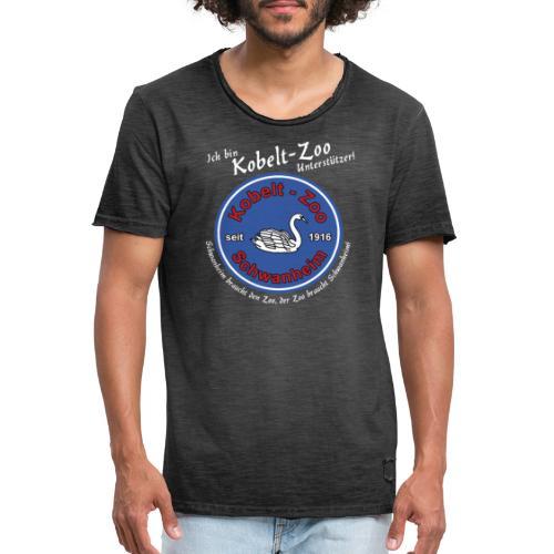 Highlanders Kobelt-Zoo Benefiz Shirt - Schwan - Männer Vintage T-Shirt