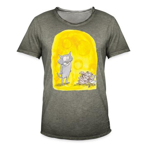 Le chat et les souris - T-shirt vintage Homme