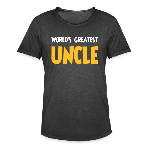 World's greatest uncle - Men's Vintage T-Shirt