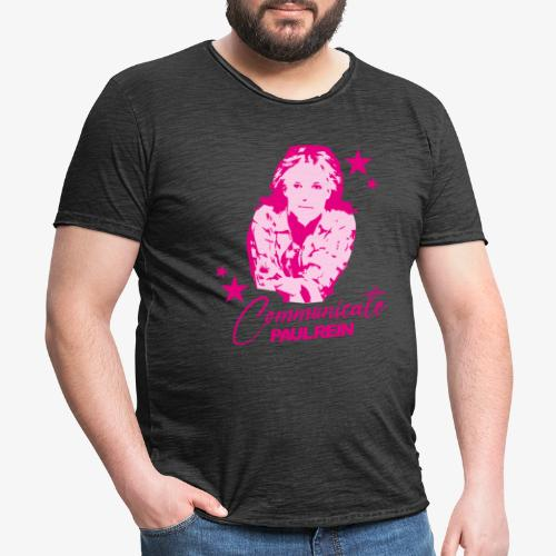 Paul Rein - Communicate - background - Vintage-T-shirt herr