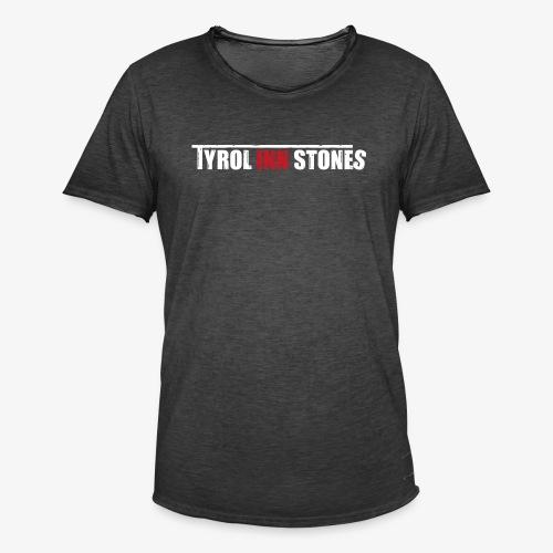 Tyrol Inn Stones Logo - Männer Vintage T-Shirt