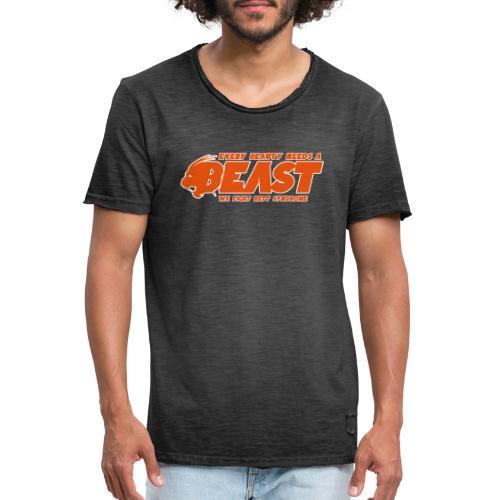 Beast Sports - Men's Vintage T-Shirt
