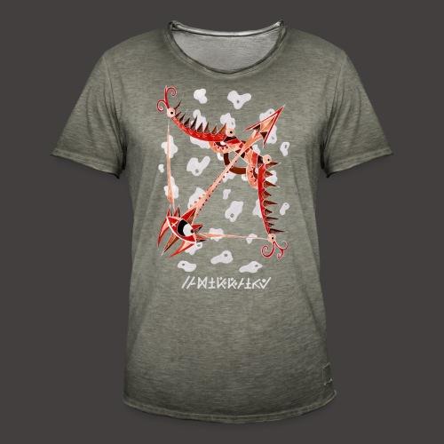 Sagittaire Négutif - T-shirt vintage Homme