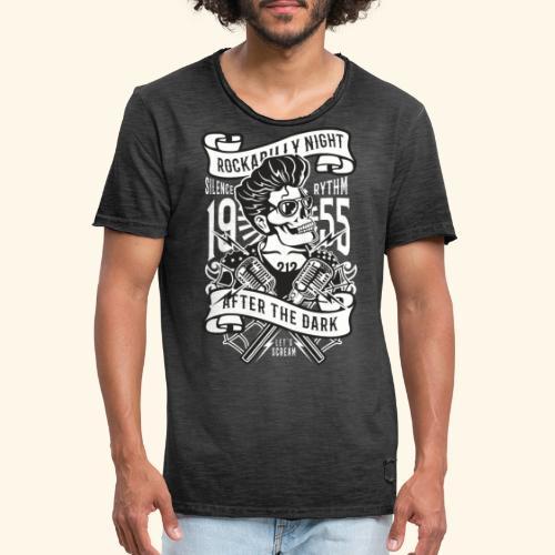 Rockabilly Night - Männer Vintage T-Shirt