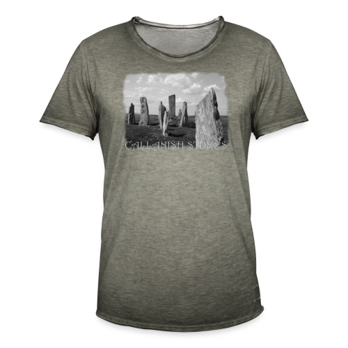 CALLANISH STONES #1 - Männer Vintage T-Shirt