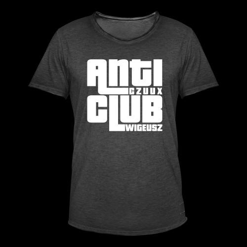Anti Czuux Wigeusz Club - Koszulka męska vintage