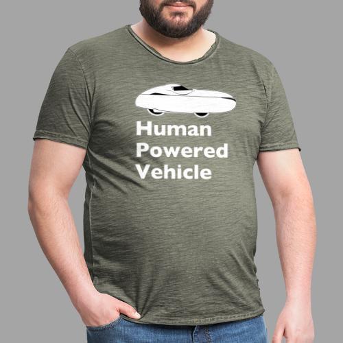 Quest Human Powered Vehicle 2 white - Miesten vintage t-paita
