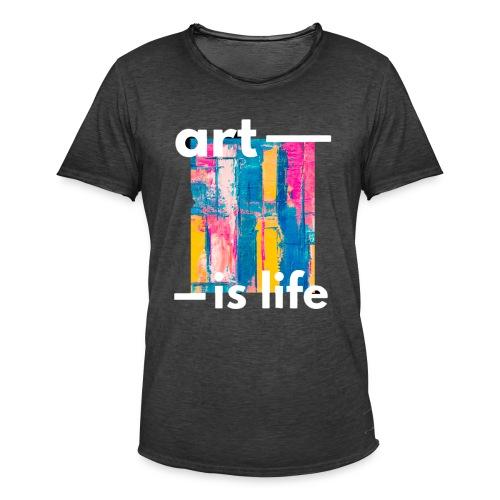 ART T SHIRT - Camiseta vintage hombre