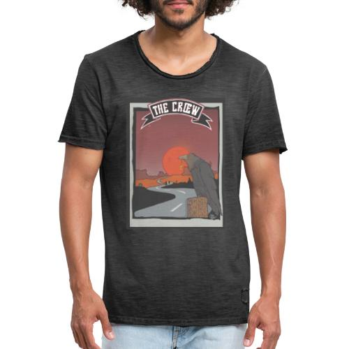 THE CRŒW DESERT - T-shirt vintage Homme