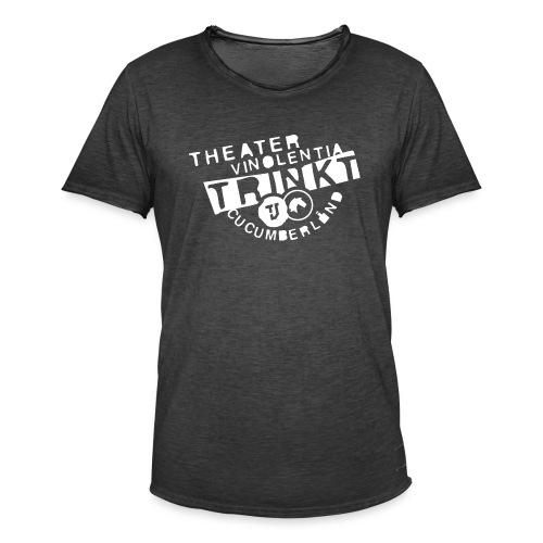 Theater Vinolentia trinkt Cucumberland - Männer Vintage T-Shirt