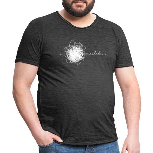 Vorschau: mei lebm - Männer Vintage T-Shirt