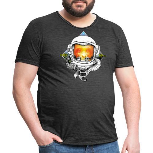 Ape meats Alien - Männer Vintage T-Shirt