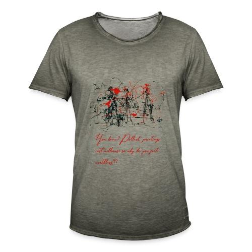 Don't feel worthless - Maglietta vintage da uomo