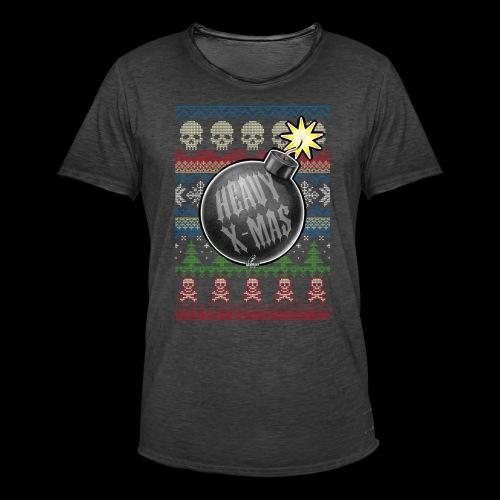 Heavy X-Mas Christbaumkugel-Bombe - Männer Vintage T-Shirt
