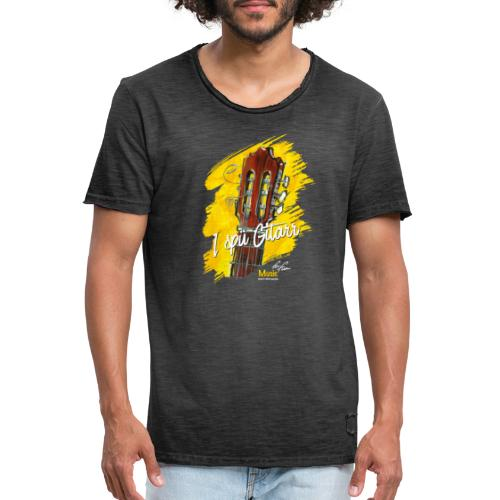 I spü Gitarr - limited edition '19 - Männer Vintage T-Shirt