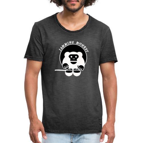 Jamming Monkey - T-shirt vintage Homme