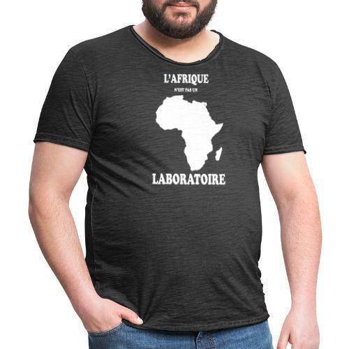L' Afrique n'est pas un Laboratoire - T-shirt vintage Homme