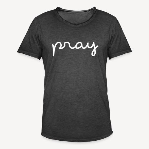 PRAY - Men's Vintage T-Shirt