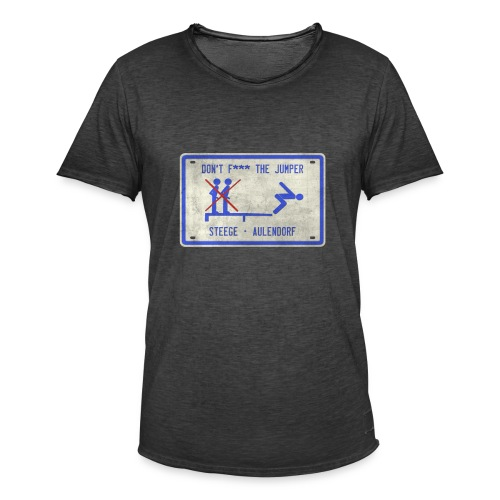 Schild Steege vintage - Männer Vintage T-Shirt