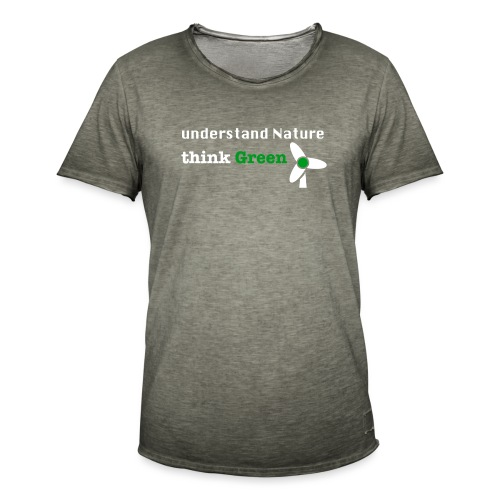 Understand Nature! And think Green. - Men's Vintage T-Shirt