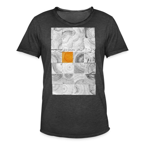 Cubes de Bois - T-shirt vintage Homme