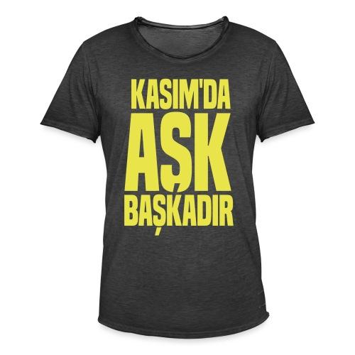 Kasim - Männer Vintage T-Shirt