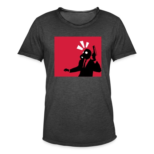 Gasmask - Men's Vintage T-Shirt