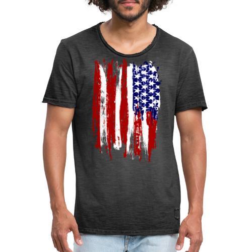 USA - Vintage-T-shirt herr