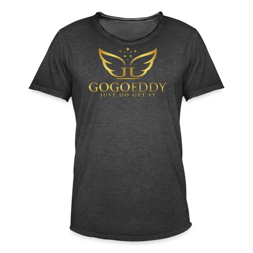 GoGo Eddy Gold Merchandise - Men's Vintage T-Shirt
