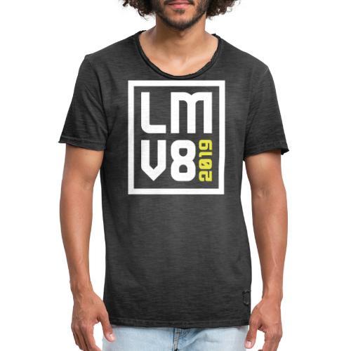 LMV8 2019 - Mannen Vintage T-shirt