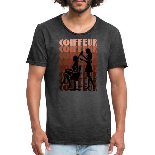Coiffeur - Männer Vintage T-Shirt