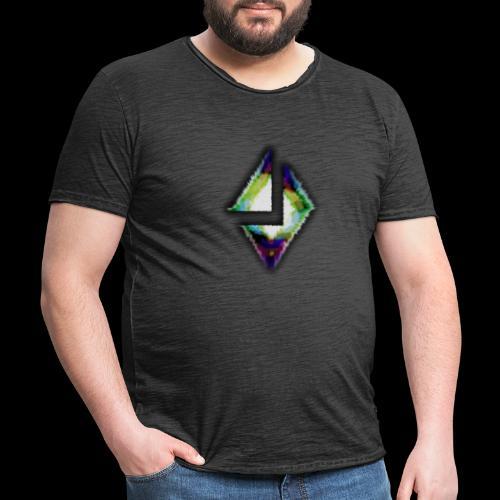 losange crack - T-shirt vintage Homme