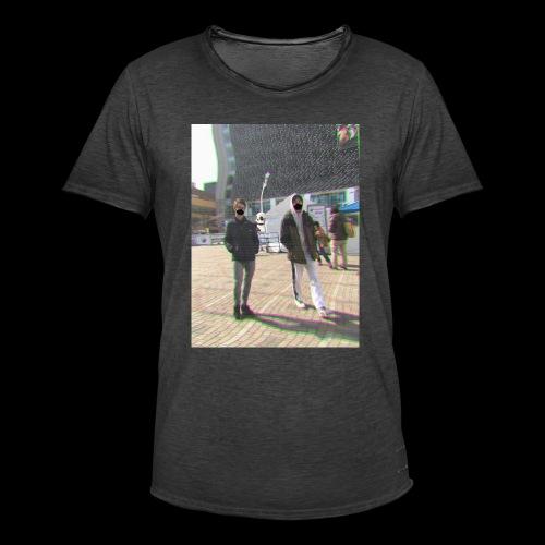 masks - Koszulka męska vintage