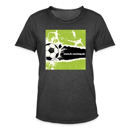 FC Sonntag Weblogo - Männer Vintage T-Shirt