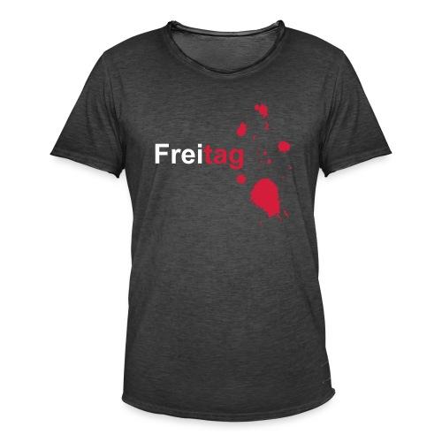 Freitag - Männer Vintage T-Shirt