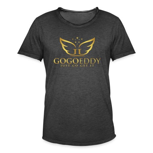 GoGo Eddy Gold Merchandise - Men's Vintage T-Shirt