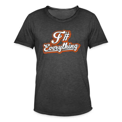 F# Everything - Men's Vintage T-Shirt