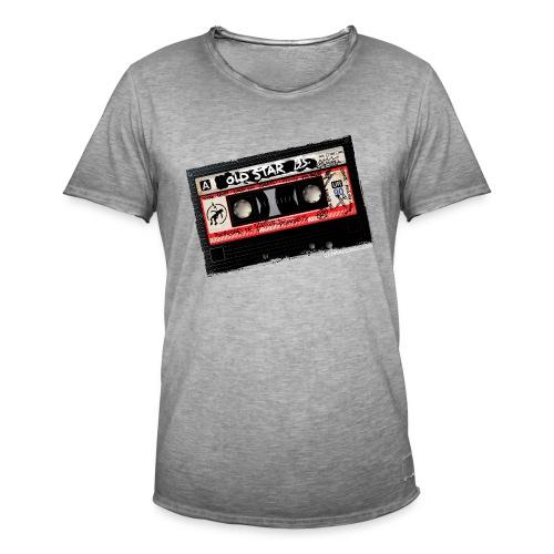 Cassette BSO - Camiseta vintage hombre