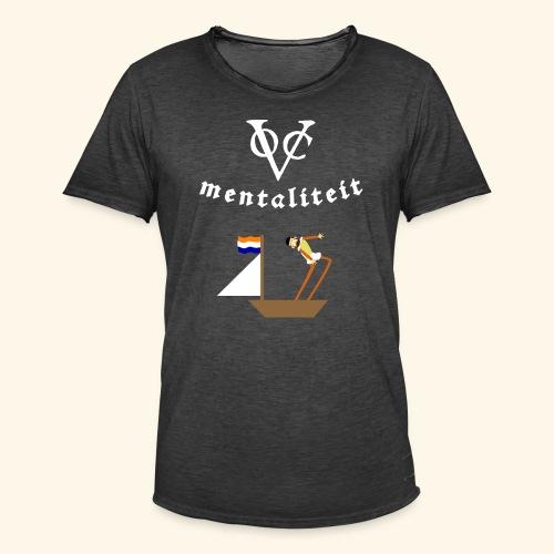 VOC-mentaliteit - Mannen Vintage T-shirt