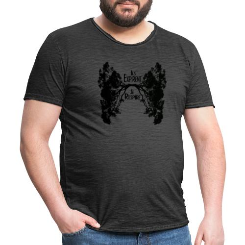 Oxygène - T-shirt vintage Homme