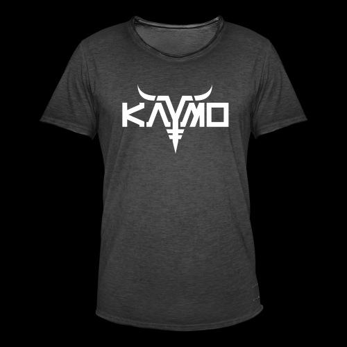 KayMo Logo - Vintage-T-skjorte for menn